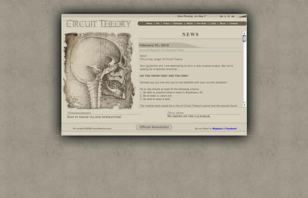 Circuit Theory Music - version 2