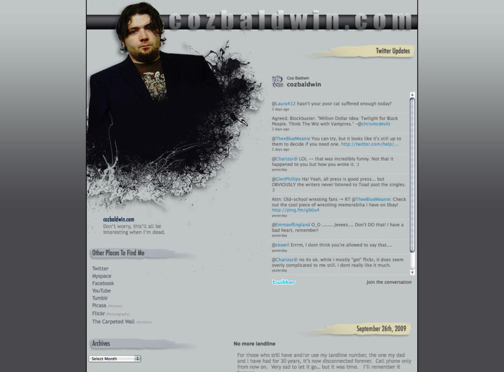 Cozbaldwin.com - Version 9