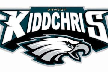 KiddChris Eagles Parody Logo