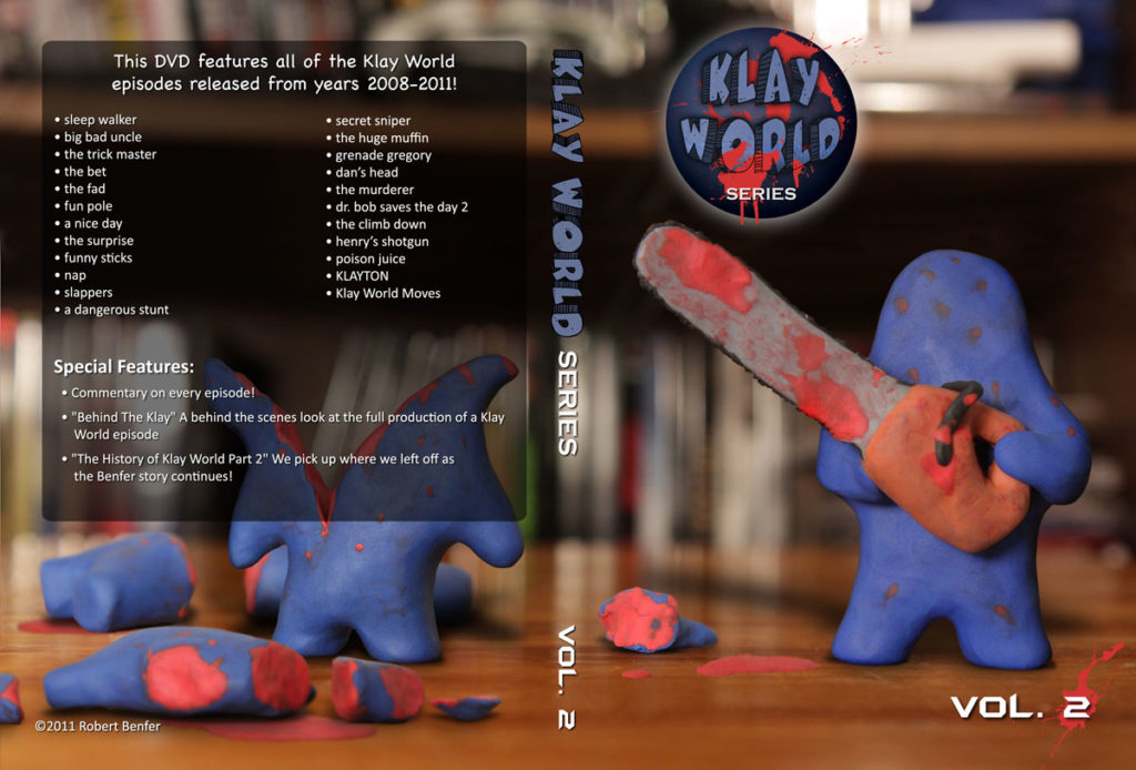 Klay World Vol 2 DVD Cover