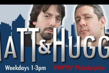 Matt and Huggy logo