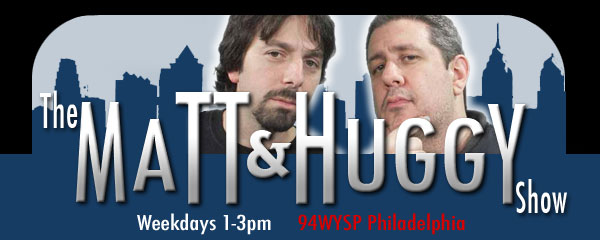 Matt and Huggy logo