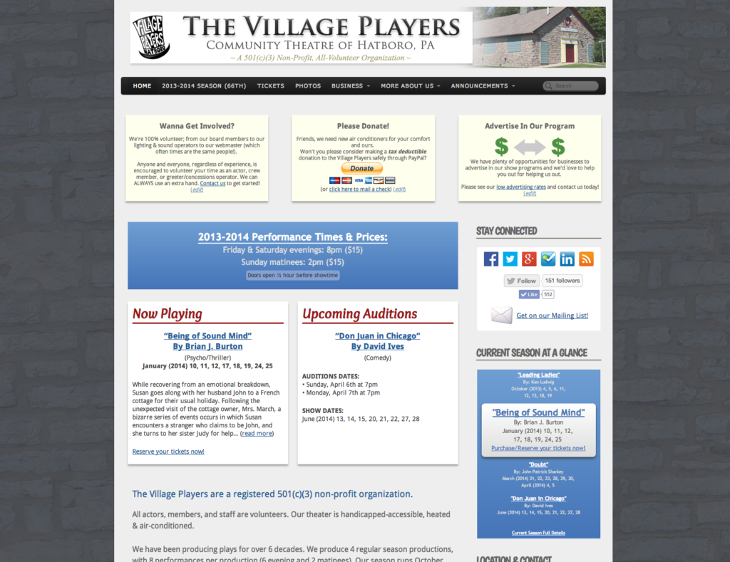 The Village Players - version 3