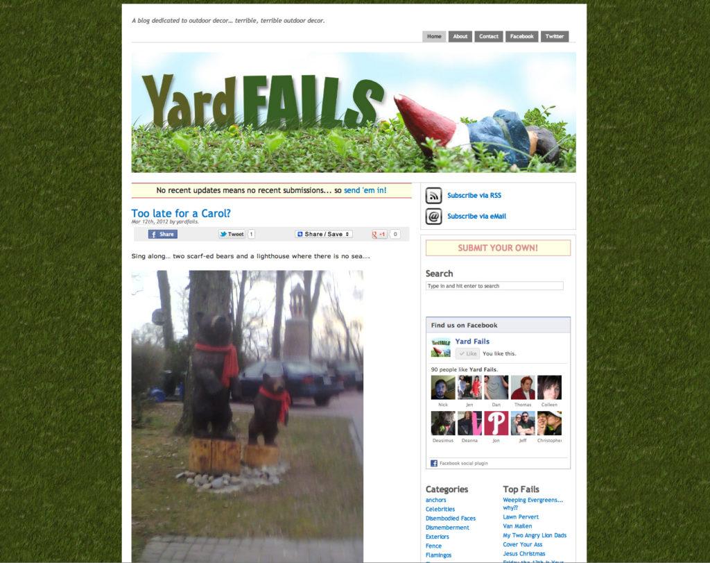 Yard Fails